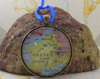 Corporate Gifts Ideas     Check out France Map Christmas Ornament, Keep a memory...
